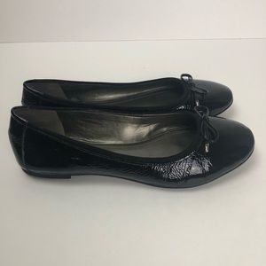 Alex Marie Shoes - Alex Marie black patent bow flats 10